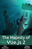The Majesty of Vue.js 2 book cover
