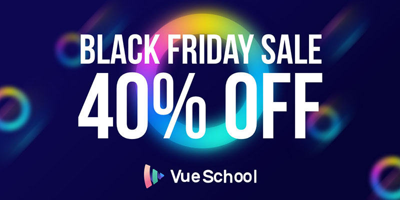 VueSchool Black Friday Deal